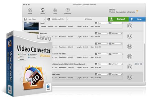 Leawo Video Converter Ultimate for Mac Free - Download Run